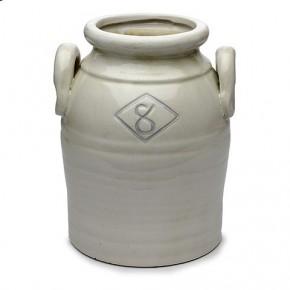 Ceramic Jar with Decorative Handles