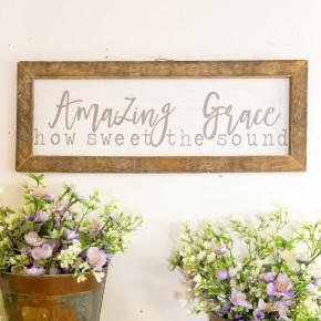 Amazing Grace Frame