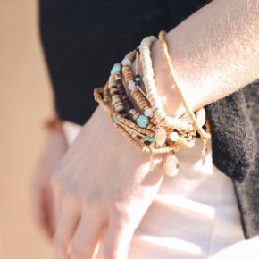 Earth Boho Stack Bracelets