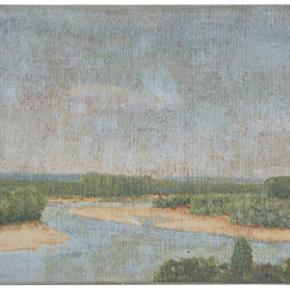 Canvas River Landscape