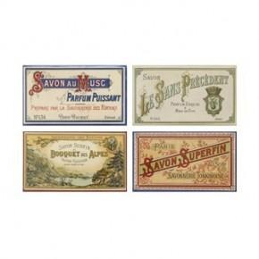 Soap Label Matchbox