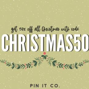 50% Off Christmas CODE!!!!