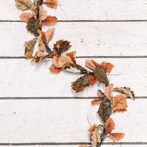 Vine Leaf Acorn Garland