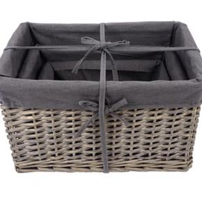 Willow Basket Set of 3