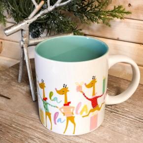 Dancing Reindeer Mug