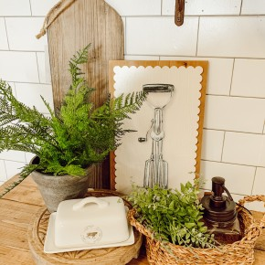 Assorted Kitchen Utensil Wall Decor