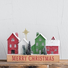 Merry Christmas Village