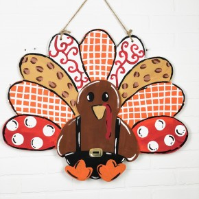 Turkey Door Hanger Craft Box