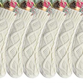 Ivory Knit Stocking