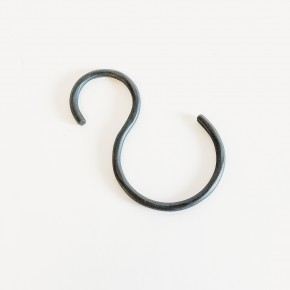 Hand-Forged Iron S-Hook