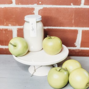 16oz Apple Pie Jar Candle