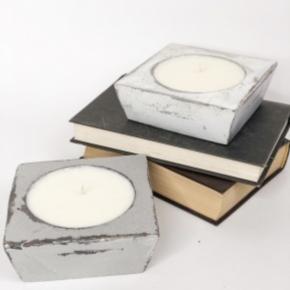 Lemon Pound Cake  Cheese Mold Candle