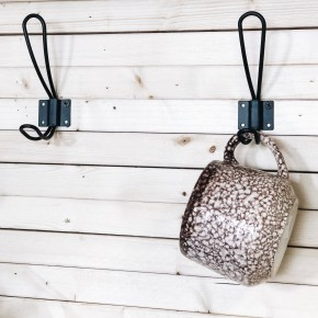 Farmhouse Metal Hook Set of 2