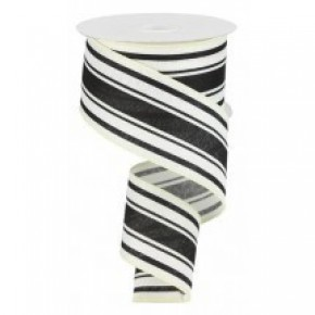 Farmhouse Stripe Ribbon