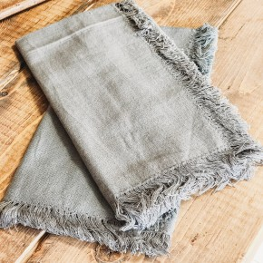 Cotton Fringe Napkin Set of 2
