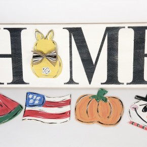 Interchangeable Home Sign Craft Box