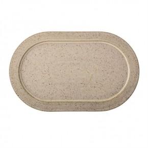 Oval Stoneware Speckled Platter
