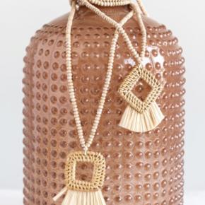 Wood Bead Bari Necklace