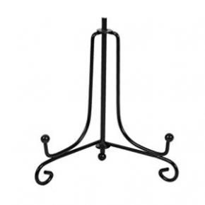 Black Iron Display Stand