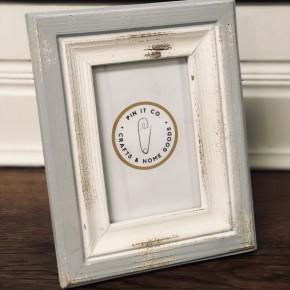 Old White & Grey Frame