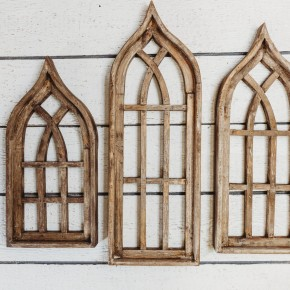 Gothic Wooden Window