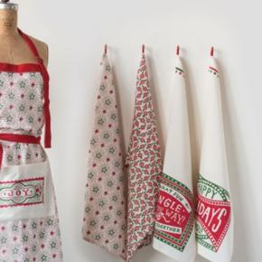 Assorted Classic Christmas Tea Towel