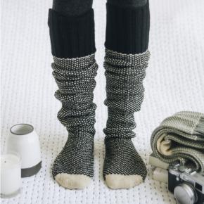 Knitted Lounge Socks