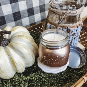 Harvest Copper Jar Candle