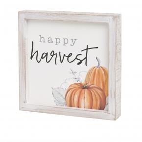 Happy Harvest Framed Sign