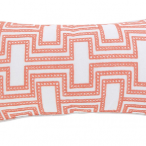 Clementine Spring Crewel Embroidered Pillow