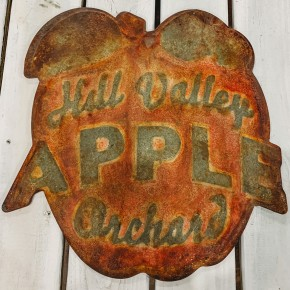 Hill Valley Apple Sign