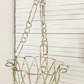 Iron Tulip Hanging Basket
