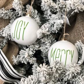 Merry & Joy Ornament