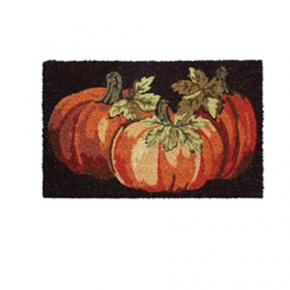Fall Pumpkin Door Mat