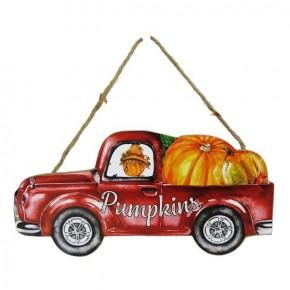 Truck w/Pumpkin Sign