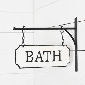 Wall Bath Tin Hanger