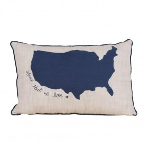 Land That I Love Pillow
