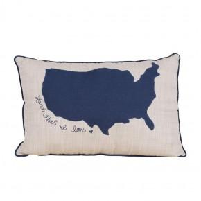Land That I Love Pillow