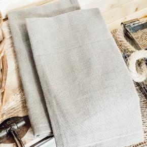 Grey Cotton Napkin Set of 2