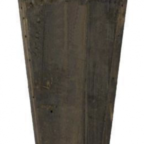 Antique Cedar Wall Pocket