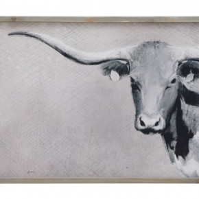 Longhorn Framed Art