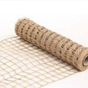 Wired Open Weave Burlap Ribbon