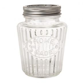 """Homemade"" Glass Jar"