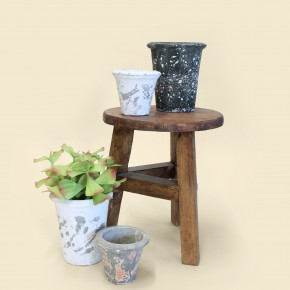 Distressed Clay Pots