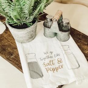 Salt & Pepper Tea Towel