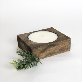 Single Cheese Mold Candle- Wassail