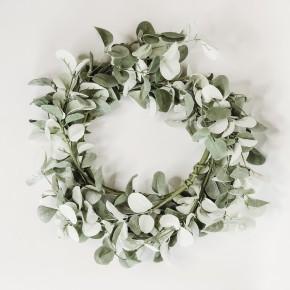Silver Drop Eucalyptus Candle Ring