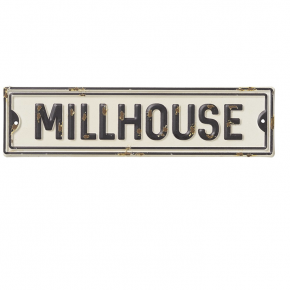 Millhouse Metal Street Sign
