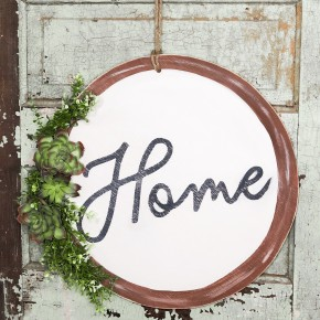 "Hoop Wreath ""Home"" Sign Craft Box"