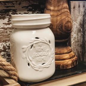 Large Mason Jar Fragrance Warmer